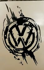VW Volkswagen Logo Vinyl Decal Stickers Car T4 T5 T6 Van Transporter Camper