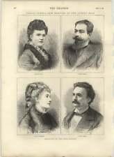 1875 Solo Singers Stolz, Waldmann, Medina,masini And The Albert Hall