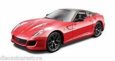 FERRARI 599 GTO RED 1/32 DIECAST MODEL CAR BY BBURAGO 44024