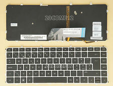 for HP Envy 4-1200ez 4-1250ez 4-1267sz Keyboard Swiss Tastatur backlit Silver