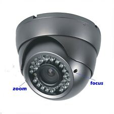 "New 1300TVL 1/3"" Sony CMOS Color CCD 2.8~12mm  infrared Night Vision Dome Camera"