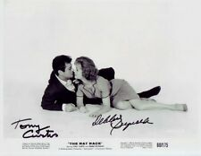 THE RAT RACE the late TONY CURTIS & DEBBIE REYNOLDS signed photo!