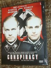 Conspiracy (DVD, 2002), NEW & SEALED, REGION 1, SNAPCASE,WITH KENNETH BRANAGH