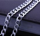 """Stainless Steel Mens/Women Necklace 6MM Curb Chain 22""""Link Wedding COOL Jewelry"""