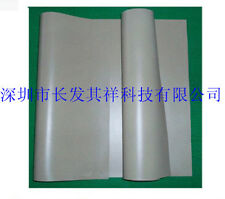 Silver Plated Glass Conductive Rubber EMC Shielding Sheet 300*300*0.5mm #U6T6