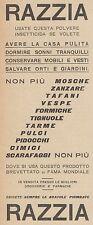 Z3050 Insetticida RAZZIA - Pubblicità d'epoca - 1927 old advertising