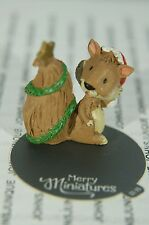 SQUIRREL 2015 MERRY MINIATURES HALLMARK~NEW COLLECTION~SMALL~FREE SHIP IN US
