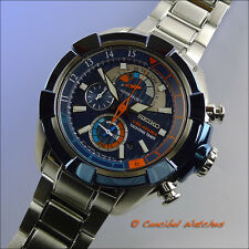 Seiko Velatura SPC143P1 Yachting Timer Blue Bezel Stainless Steel cal. 7T84