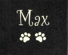 Egipcio de lujo Toalla Personalizada Y Cualquier Nombre Para Perro / Gato / Mascota Ideal Regalo