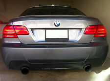 BMW E92 E93 3-Series ABS Euro Rear Trunk Performance Spoiler Lip Wing Sport Lid