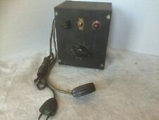 SUPERIOR ELECTRIC CO. POWERSTAT VARIABLE AUTOTRANSFORMER
