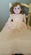 1900 Vintage Armand Marseille Antique Doll 3700 German Porcelain Bisque Head 17""
