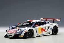 McLaren 12C GT3 Red Bull 2012 Loeb / Parente #9 1:18 Model 81342 AUTOART