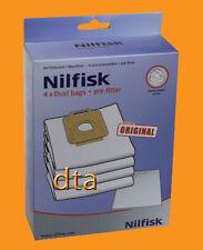 GENUINE NILFISK VACUUM CLEANER BAGS POWER SERIES-P40 + FILTER