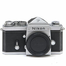 Nikon F with unmetered F prism finder