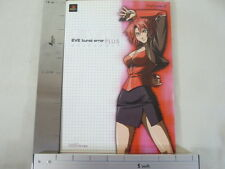EVE BURST ERROR PLUS Official Game Guide Art Book PS2 EB*