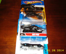 HotWheels BATMAN HWCITY The Batman Batmobile, DARK KNIGHT RISES Batpod, 2012 BAT