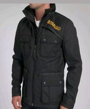 BNWTS New Mens Superdry Blackhawk Jacket Size Medium 38 chest coat RRP £154.99