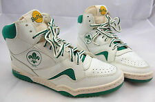 Vintage 90's Mens Buffalo Basketball Shoes W/Fleur De Lis Sz. 38 US Mens 6 - 6.5