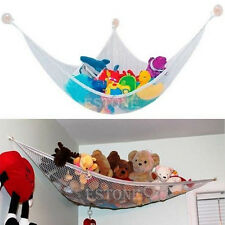Large JUMBO Deluxe Pet Organize Corner Stuffed Animals Toys Toy Hammock Net Hot