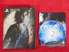 BEYOND TWO SOULS - PlayStation 3 PS3 ~16+ Steelbook!