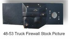 """1935 1939 Bitchin Ford Truck Small Block Firewall Pad with a 3"""" Setback"""