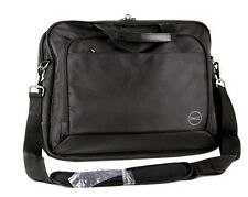 NEW Dell Laptop Nylon Carrying Case Cover Black with Shoulder Strap - T43DV