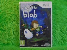 wii BOY And HIS BLOB A Tale Of Friendship Adventure Nintendo PAL UK Version