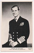 Vintage Postcard  Prince Philip, Duke of Edinburgh