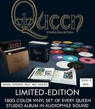 QUEEN STUDIO COLLECTION - EXCLUSIVE  LTD. EDITION, COLORED,180 Gram 18-LP,BOXSET