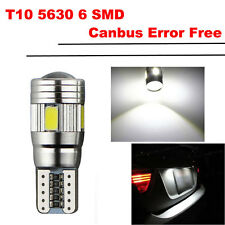 1X T10 6 SMD 501 W5W Car LED Light Bulbs ERROR FREE CANBUS Interior Parking Lamp