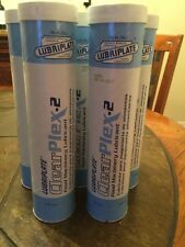 8 EXPIRED Tubes Lubriplate CLEARPLEX-2 L0351-098 14.5 OZ. Food Grade Grease