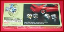 Fujimi Wheel & Tire Set 17 inch Lamborghini Type OZ #2 1/24 Model Kit