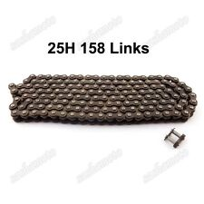 25H 158 Links Chain Spare Link For 47cc 49cc Mini Moto ATV Quad Pocket Dirt Bike
