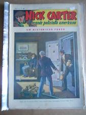 Nick Carter Il Grande poliziotto americano Anni 40 n°96 ed. NERBINI  [G369]