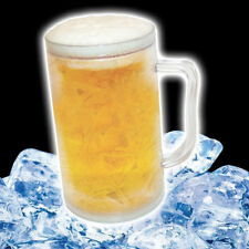 Freezer Frosty Iced Freeze Gel Beer Mug Pint Jug Tankard Drinks Cooler 440ml