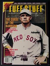 BABE RUTH REDSOX NM THE CURSE OF THE BAMBINO TUFF STUFF 1994 MARVEL PROMO CARDS!