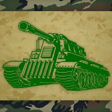 Army Tank Wall Decal, Tank Wall Sticker, Army Tank Wall Graphic - 22""