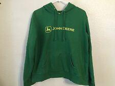 Boy's JOHN DEERE Sweatshirt W/Hood (Size: L/12-14)