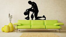 Wall Room Decor Art Vinyl Sticker Mural Decal American Football Sport Fun FI303