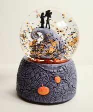 Nightmare Before Christmas Jack Sally SnowGlobe Snow Globe Music Box Snowdome
