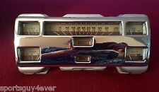 1940 FORD DELUXE INSTRUMENT SPEEDOMETER GAUGE PANEL - READY TO INSTALL