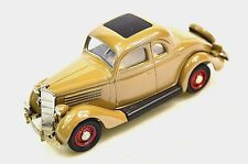 Ford Tipo 48 Coupe 1935 5 Ventana 1:43 Rextoys 53 Brown Modelo Diecast Chip de pintura