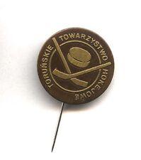 pin Polish Ice Hockey Club Toruńskie Towarzystwo Hokejowe badge