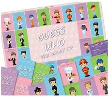 Baby Shower Party Game  -  GUESS WHO THE DADDY IS? -  Team Game
