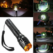 2500 Lumen Zoomable CREE XM-L T6 LED 18650 Flashlight Torch Zoom Lamp Light New