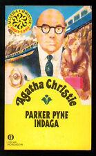 CHRISTIE AGATHA PARKER PYNE INDAGA OSCAR MONDADORI 2231 GIALLI 94 1990