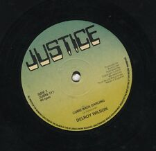 Delroy Wilson / I Roy ‎– Come Back Darling / Put It On ORIG UK 12' EX JUSTICE