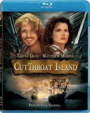 Cutthroat Island . Die Piratenbraut . Geena Davis Matthew Modine . Blu-ray . NEU