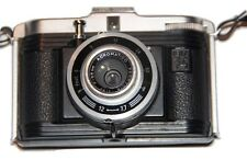 Ferrania Acromatic Ibis / Vintage Photo Camera / 34mm Lens & Case [Perfect Gift]